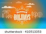 travel vector illustration.... | Shutterstock .eps vector #410513353