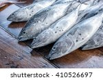 fresh tuna | Shutterstock . vector #410526697