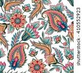 traditional oriental seamless... | Shutterstock . vector #410552923