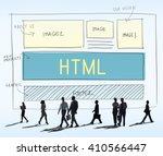 design html web design template ... | Shutterstock . vector #410566447