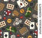 Cartoon Hand Drawn Casino ...