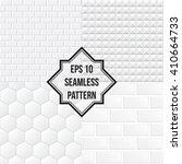 white ceramic tiles background. ...   Shutterstock .eps vector #410664733