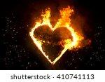 Fiery Heart. Fire In The Night...