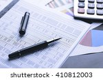 business accounting   business... | Shutterstock . vector #410812003