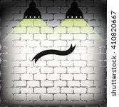 ribbon icon. | Shutterstock .eps vector #410820667