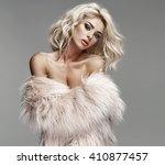 blond beauty woman   Shutterstock . vector #410877457
