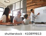 shot of a male office worker... | Shutterstock . vector #410899813