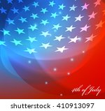 abstract image of the american... | Shutterstock .eps vector #410913097