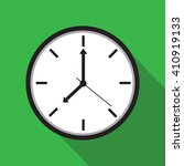 clock icon   vector... | Shutterstock .eps vector #410919133