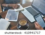 business digital devices... | Shutterstock . vector #410941717