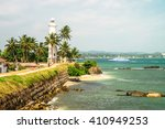 lighthouse area  galle gort  ... | Shutterstock . vector #410949253