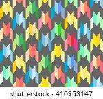 polygonal dogtooth seamless... | Shutterstock .eps vector #410953147