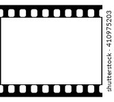 vector 35 mm film strip... | Shutterstock .eps vector #410975203