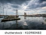 Storm Clouds Over Docks And...