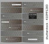 set of modern vector banners.... | Shutterstock .eps vector #410991283