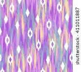 abstract ikat diamond design  ...   Shutterstock .eps vector #411011887