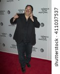 Small photo of New York, NY USA - April 24, 2016: Adrian Martinez attends Almost Paris premiere during Tribeca Film Festival at Bow-Tie cinema on 23rd street