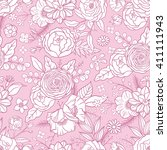 seamless pattern with different ...   Shutterstock .eps vector #411111943