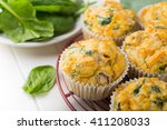 Muffins With Spinach  Sweet...