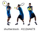 tennis player | Shutterstock . vector #411264673