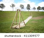 children playground in the park | Shutterstock . vector #411309577