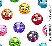 funny cartoon comic round faces ...