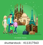 high quality  detailed most... | Shutterstock .eps vector #411317563