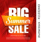 summer sale template banner | Shutterstock .eps vector #411332443
