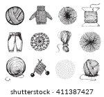 Handmade Vector Set Of Icons O...