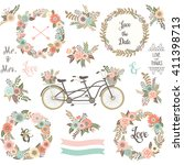 Wedding Floral Invitation.flor...