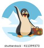 vector cartoon illustration of... | Shutterstock .eps vector #411399373