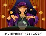 a vector illustration of... | Shutterstock .eps vector #411413317