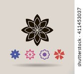 flower   Shutterstock .eps vector #411453037