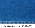 jeans texture background with... | Shutterstock . vector #411537637