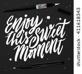 """enjoy this sweet moment"".... 