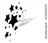 stars. star design tattoos. | Shutterstock .eps vector #411626653