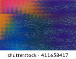 vhs color glitch texture   Shutterstock . vector #411658417