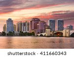 West Palm Beach  Florida  Usa...