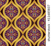 vector seamless pattern with... | Shutterstock .eps vector #411685837
