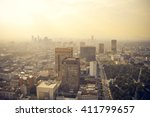 mexico city industrial part... | Shutterstock . vector #411799657