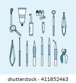 stock vector illustration set...   Shutterstock .eps vector #411852463