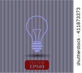 idea icon | Shutterstock .eps vector #411873373