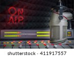for radio stations  a... | Shutterstock . vector #411917557