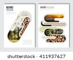 business brochure design... | Shutterstock .eps vector #411937627
