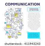 vector creative concept... | Shutterstock .eps vector #411943243