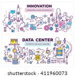 vector creative concept... | Shutterstock .eps vector #411960073