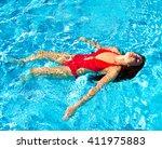 swim | Shutterstock . vector #411975883