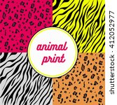 animal print | Shutterstock .eps vector #412052977