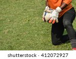 in play soccer goalkeeper catch ...