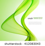 abstract color wave image on a... | Shutterstock .eps vector #412083043
